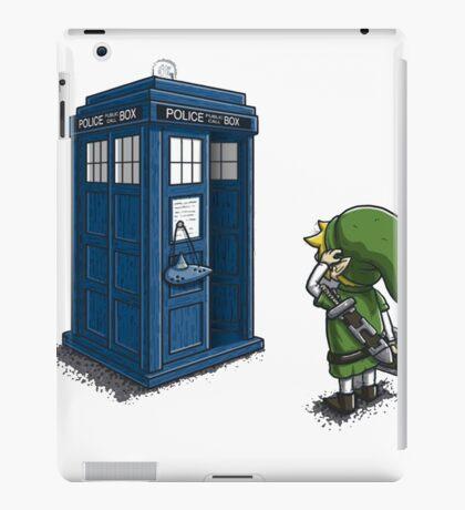 The Legend of Zelda & Doctor Who - Link (Tardis) iPad Case/Skin