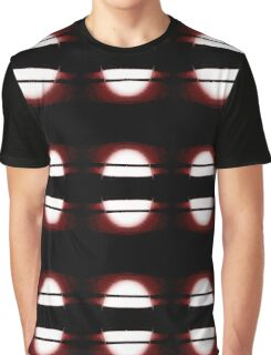 Abstract Piano Red Graphic T-Shirt