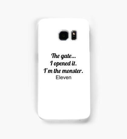 The gate... (Stranger Things) Samsung Galaxy Case/Skin