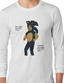 """The Pain"" Sonic Long Sleeve T-Shirt"