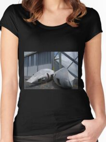 Beached Women's Fitted Scoop T-Shirt