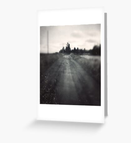 Road to the Beach Greeting Card