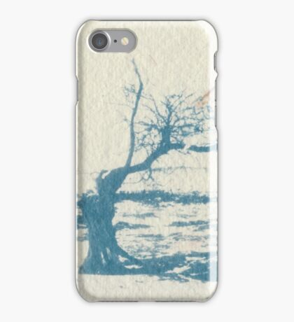 African Tree (Cyanotype) iPhone Case/Skin