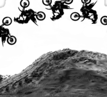 Motocross Backflip Sticker