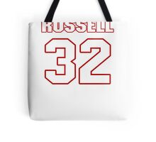 NFL Player Anderson Russell thirtytwo 32 Tote Bag