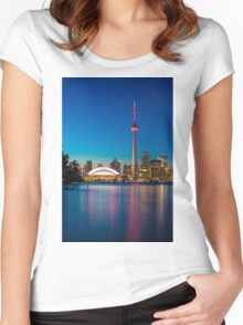 Toronto Canada  Women's Fitted Scoop T-Shirt