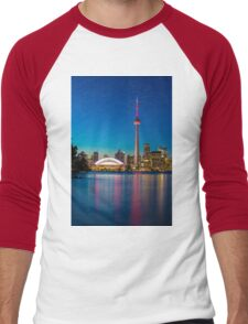 Toronto Canada  Men's Baseball ¾ T-Shirt