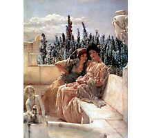 Whispering Noon 1896 By Sir Lawrence Alma-Tadema Photographic Print