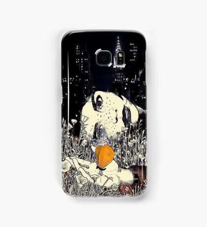 Sleepless in New York Samsung Galaxy Case/Skin