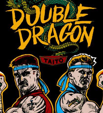 Double Dragon (Arcade) Sticker