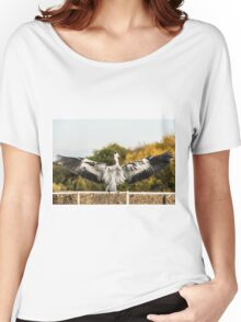 Heron Women's Relaxed Fit T-Shirt