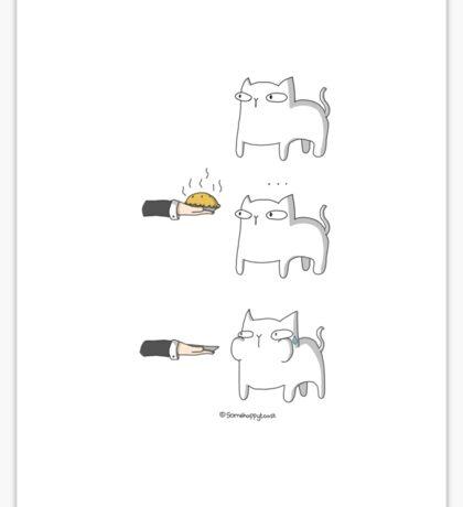 Pie Cat  Sticker