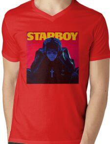 STARBOY Mens V-Neck T-Shirt