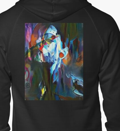 Covered in Color Zipped Hoodie