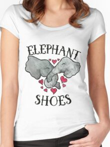 Elephant Shoes Women's Fitted Scoop T-Shirt