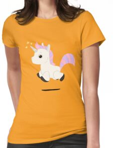 Magical Unicorn  Womens Fitted T-Shirt