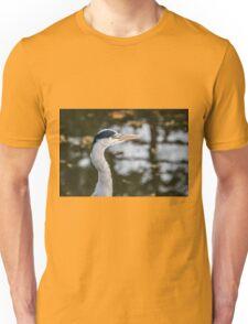 Heron Head Unisex T-Shirt