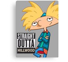 Hey Arnold! Straight Outta Hillwood - Arnold Canvas Print