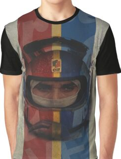 Francois Cevert Design Graphic T-Shirt
