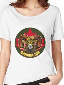 Horn Sheep Women's Relaxed Fit T-Shirt
