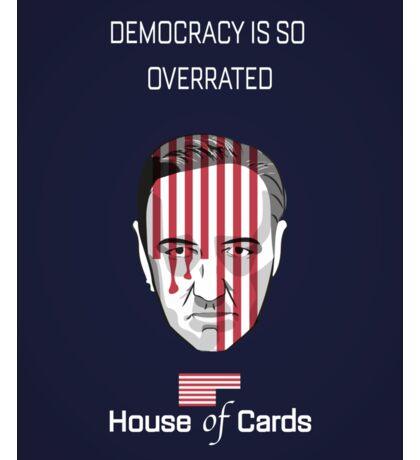 House Of Cards - Frank Underwood Sticker