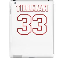 NFL Player Charles Tillman thirtythree 33 iPad Case/Skin