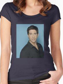 Got that David Schwimmer Money Women's Fitted Scoop T-Shirt