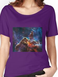 """Exclusive """" Space """" a3 (c)(h) olao-olavia by okaio créations 2017 Women's Relaxed Fit T-Shirt"""