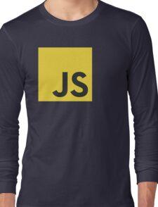javascript js programming language logo Long Sleeve T-Shirt