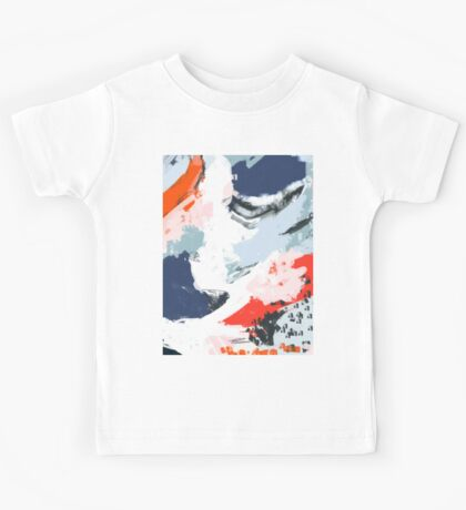Abstract Color Pop Kids Tee