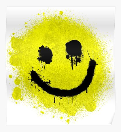 Smile - Graffiti Poster