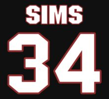 NFL Player Charles Sims thirtyfour 34 by imsport