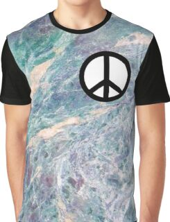 peace marble! Graphic T-Shirt
