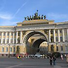 Arch of the Joint Staff  by Elena Skvortsova