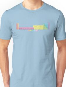 118 Element Extended Periodic Table Unisex T-Shirt