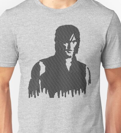 The Walking Dead Daryl Silhouette Unisex T-Shirt