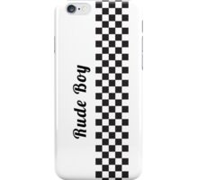 Ska - Rude Boy iPhone Case/Skin