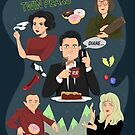 Welcome to Twin Peaks by Christina Draws