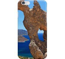 Natural Rocky Arch - Kalymnos island iPhone Case/Skin