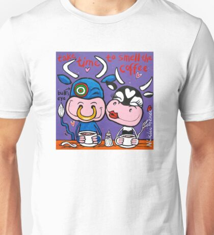 Smell the coffee Unisex T-Shirt