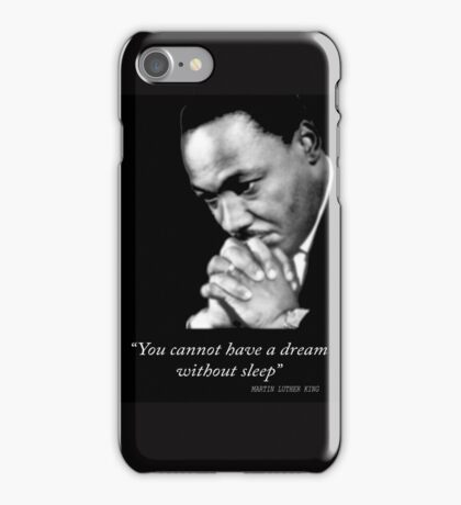 luther king iPhone Case/Skin