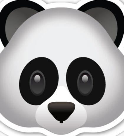 Panda Emoji Sticker