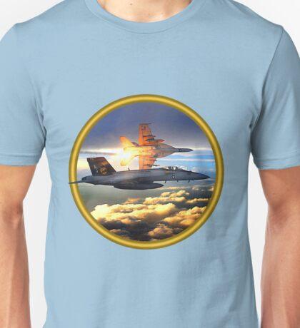 F-18 Sunrise Unisex T-Shirt