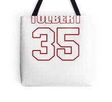 NFL Player Mike Tolbert thirtyfive 35 Tote Bag