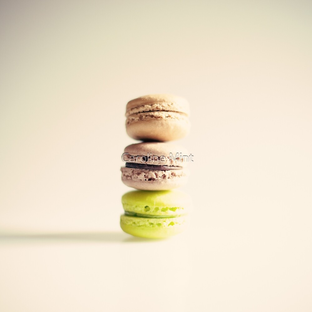 Macaroons  by Caroline Mint
