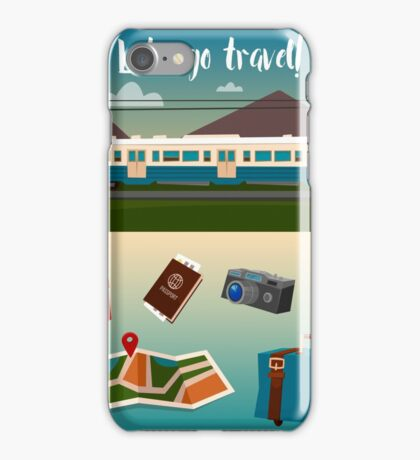 Time to Travel by Train iPhone Case/Skin