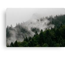 Alpine Mist Canvas Print