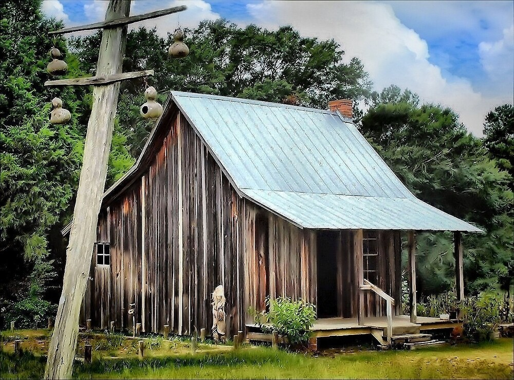 The Old Country Cottage by RickDavis