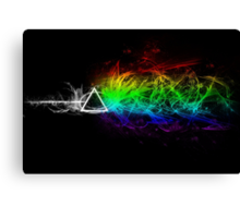 Pink Floyd - The Dark Side Of The Moon Canvas Print