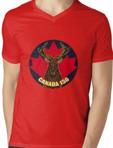 Elk Mens V-Neck T-Shirt
